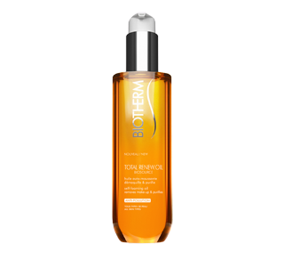 Biosource Total Renew Oil huile auto-moussante démaquillante et purifiante, 200 ml