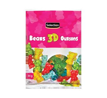 3D bonbons oursons, 114 g