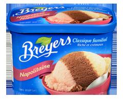 Image du produit Breyers - Classique familial, 1,66 L, napolitain