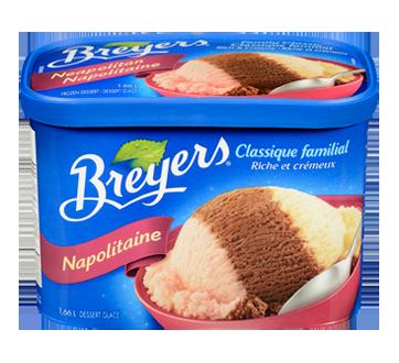 Image 2 du produit Breyers - Classique familial, 1,66 L, napolitain