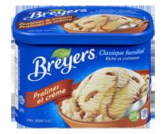 Image du produit Breyers - Classique familial, 1,66 L, pralines et crème