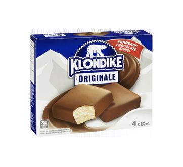 Image 2 du produit Klondike - Barres de crème glacée à la vanille et au chocolat saveur originale, 4 x 150 ml, Chocolately Covered Vanilla