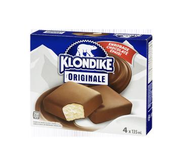 Image 3 du produit Klondike - Barres de crème glacée à la vanille et au chocolat saveur originale, 4 x 150 ml, Chocolately Covered Vanilla