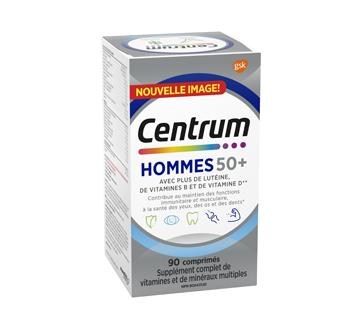 Image du produit Centrum - Supplément homme 50+, 90 unités