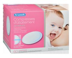 Image du produit Personnelle - Compresses d'allaitement jetables, 60 compresses