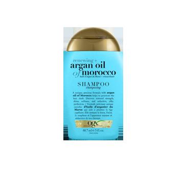 Huile argan du Maroc + Renouvelante shampooing, 89 ml