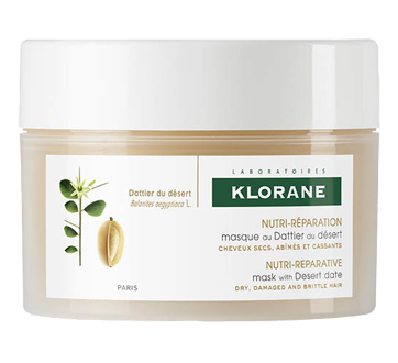 Masque au dattier du désert - Cheveux secs, nutrition et réparation , 150 ml