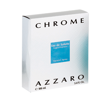 Chrome eau de toilette, 100 ml