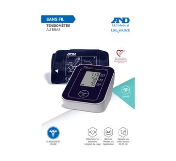 Image du produit A&D Medical - Moniteur de pression artérielle Deluxe Connecté, 1 unité