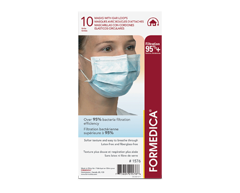 Image du produit Formedica - Masques avec boucles d'attaches, bleu