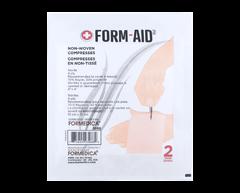 Image du produit Formedica - Compresses non-tissées, 2 unités, 10 cm x 10 cm, blanc
