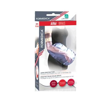 Protecteur pour bras, 1 unité, taille unique, bleu transparent