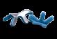Vignette du produit Formedica - Attelle pour doigt, 1 unité, type : grenouille, petit, 5.5 cm