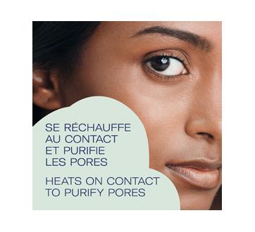Image 3 du produit Bioré - Masque une minute auto-chauffant au charbon naturel, 4 x 7 g