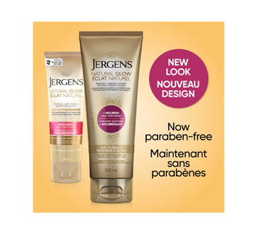 Image 3 du produit Jergens - Éclat Naturel + Nourrissant hydratant quotidien tons pâles à moyens, 220 ml