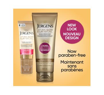 Image 3 du produit Jergens - Éclat Naturel + Nourrissant hydratant quotidien tons moyens à bronzés, 220 ml