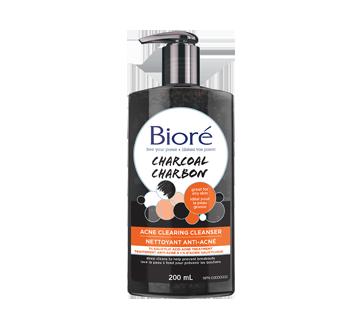 Image du produit Bioré - Nettoyant anti-acné au charbon, 200 ml