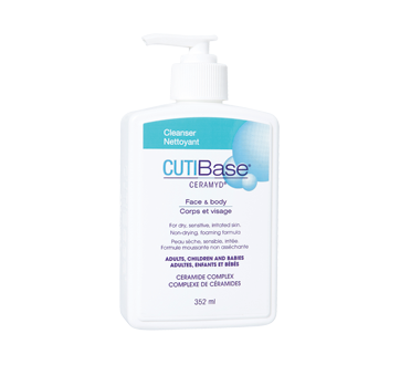 Image du produit CUTIBase Ceramyd - Nettoyant corps et visage, 352 ml
