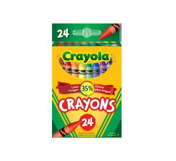 Crayons de cire, 24 unités