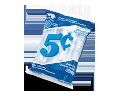 Image du produit Buffalo - Rouleaux de plastique pour 5 cents, 10 unités
