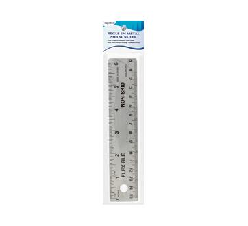 Règle en métal, 15 cm