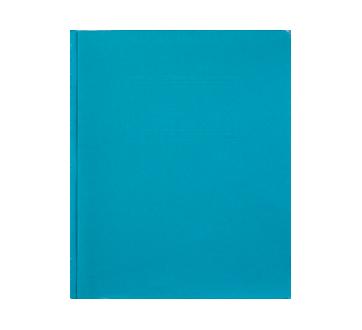 Couverture de rapport à 3 attaches, 1 unité, bleu pâle
