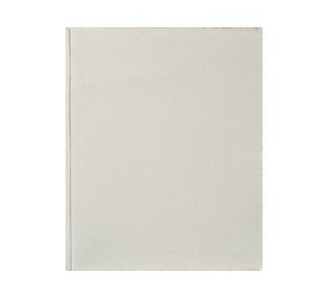 Couverture de rapport à 3 attaches, 1 unité, gris