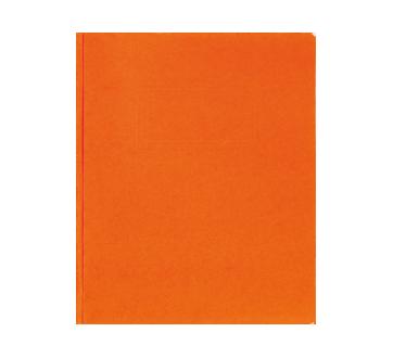 Couverture de rapport à 3 attaches, 1 unité, orange