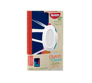 Natural Care lingettes sans parfum rechargeable, 32 unités