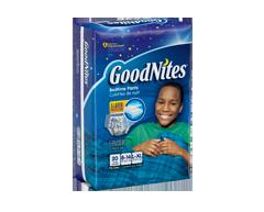Image du produit GoodNites - Sous-vêtements garçon mega pack, 20 unités , grand - très-grand