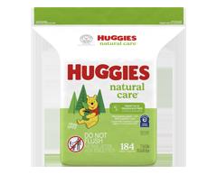 Image du produit Huggies - Lingette Natural Care, 184 lingettes, sans parfum