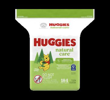 Lingette Natural Care, 184 unités, sans parfum