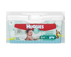 Image du produit Huggies - Lingette One & Done, 64 lingettes