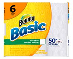 Image du produit Bounty - Basic essuie-tout, 6 unités, blanc
