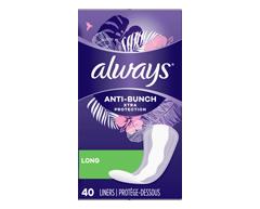 Image du produit Always - Xtra Protection protège-dessous, 40 unités, longs