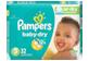 Vignette du produit Pampers - Couches Baby Dry, 32 unités, taille 3, format jumbo