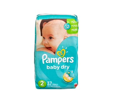 Couches Baby Dry 37 Unités Taille 2 Format Jumbo Pampers
