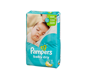 Couches baby dry 44 unit s taille 1 format jumbo pampers couche jean coutu - Couches pampers taille 1 ...