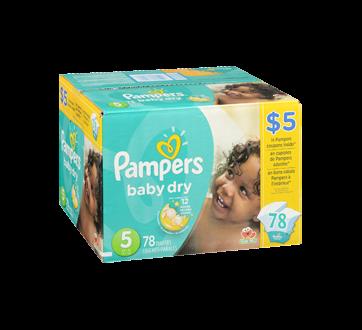 Image 2 du produit Pampers - Couches Baby Dry, 78 unités, taille 5, format super