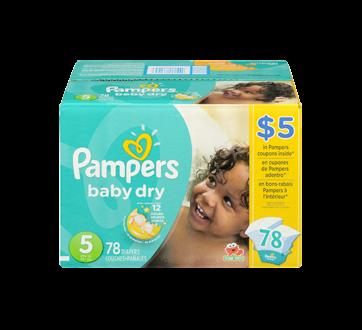 Image 3 du produit Pampers - Couches Baby Dry, 78 unités, taille 5, format super