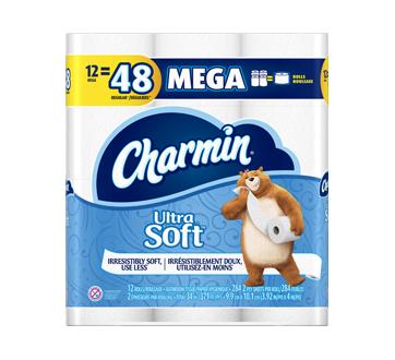 Ultra Soft papier hygiénique 284feuilles par rouleau, 12 unités
