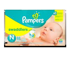 Image du produit Pampers - Swaddlers couches pour nouveau-nés taille 0, 88 unités