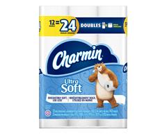 Image du produit Charmin - Ultra Soft papier hygiénique, 12 rouleaux