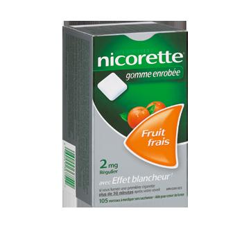 Image 1 du produit Nicorette - Nicorette gomme, 105 unités, 2 mg, fruit frais