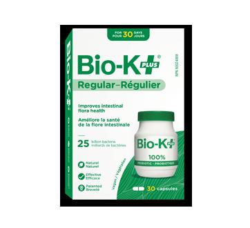 Image du produit Bio-K+ - Bio-K Plus probiotique, 30 unités, régulier – 25 milliards de bactéries