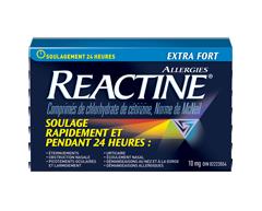 Image du produit Reactine - Reactine comprimés Reactine Extra fort, 10 unités