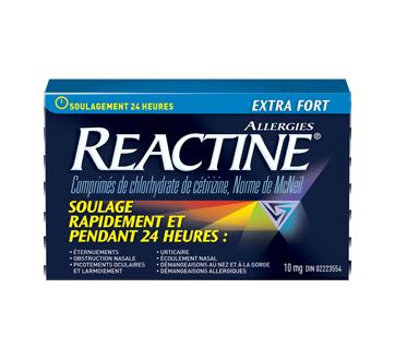 Image du produit Reactine - Reactine allergies extra fort, 48 unités