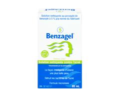 Image du produit Columbia - Benzagel 5 solution nettoyante contre l'acné, 85 ml