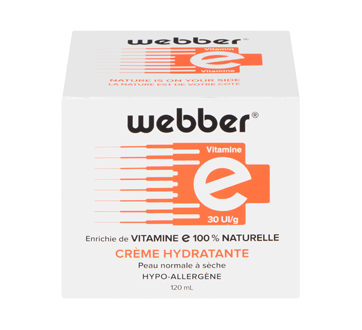 Vitamine E peau normale à sèche hypo-allergène, 120 ml