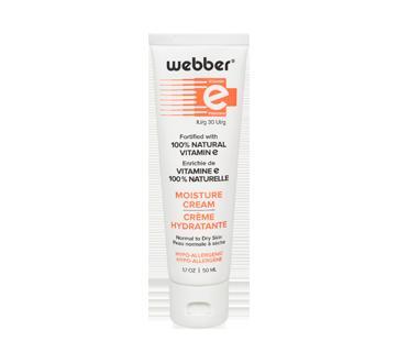 Vitamine E crème hydratante, 50 ml, peau normale à sèche